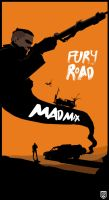 Mad Max Fury Road Minimalist Poster by Loweak
