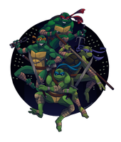Turtle Power by Shellsweet