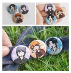 Fruits Basket Buttons by Avender