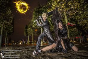 Cloud and Tifa Cosplay by Ann and Jun by TMProjection