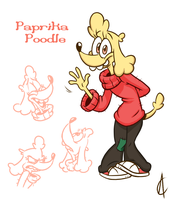 Toonsday - Paprika Poodle by Atrox-C