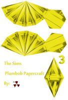 The Sims Yellow Plumbob by killero94