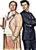 The Fifth and Tenth Doctors by mc-hammark