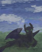 Toothless by GoryJory