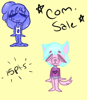Chibi Commission Sale (READ DESC PLEASE!) by wheres-my-motivation