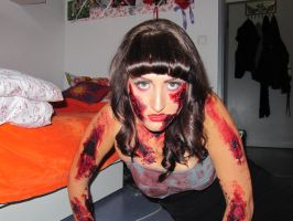 Halloween 2010 Zombie Pinup by soffl