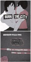 Burn The City Flyer - July 08 by dienstknecht