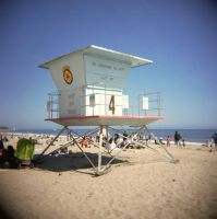Lifeguard Tower - fishtankbabe by toy-camera