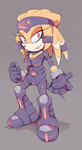Lucent the Echidna by Cylent-Nite
