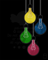 Lightbulbs by pai-thagoras