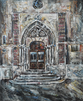 Cathedral - Side Entrance by raysheaf
