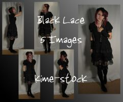 Black Lace by kime-stock