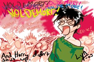 Voldemort- Harry is not afraid by bobkitty