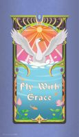 Fly With Grace by PigeonKill