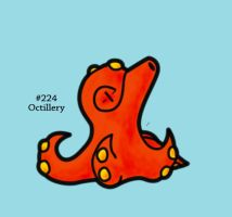 #224 - Octillery by FrostTechnology