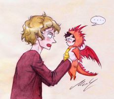 Little Smaug by monyta