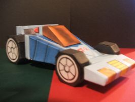 G-Force Race car by Allhallowseve31