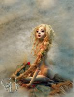 Rapunzel Ball jointed doll B by cdlitestudio