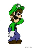 Cute Luigi by BThomas64