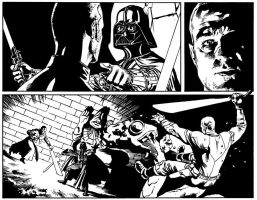 Do not mess with Darth Vader by michel-lacombe