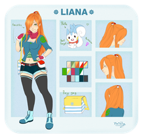 Liana reference by Nataliadsw