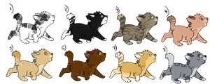 Adopts | Kittens by Allizia