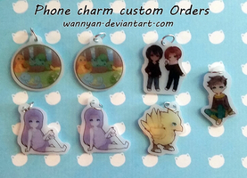 Phone Charm Customs [6] by WanNyan