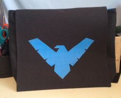 Nightwing Messenger Bag by Tirrivee