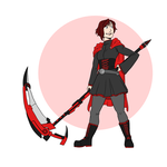 RWBY: Ruby Rose by daxarve