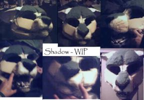 Shadow Fursuit- WIP by Sharpe19