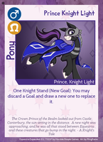 TSSSF - Equestria Expanded EU: Prince Knight Light by Lionel23