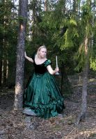 Princess in the Forest 1 by Eirian-stock