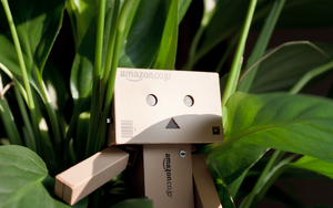 Danbo in the Jungle Wallpaper by Appl3ju1ce