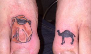 Camel toes by HowComeHesDead