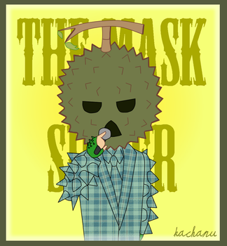 Durian Mask - The Mask Singer by Zeldrith