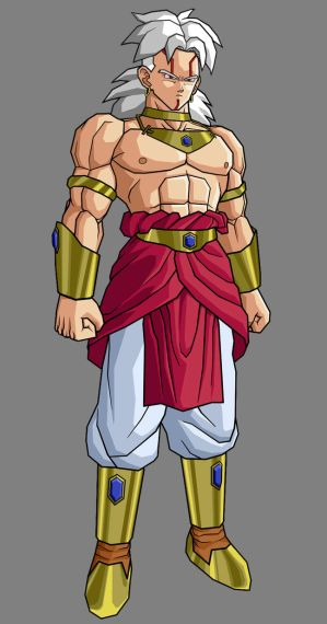 Personnages dbz inventés Baby_Broly__first_form_by_alessandelpho