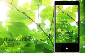 Windows Phone 7 UI concept by k2pctdn