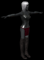 Drow - now with boots! by pistacja69