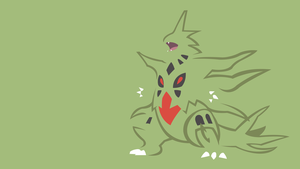 Mega Tyranitar by DashingHero