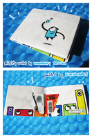 Mighty Peacebone Wallet by kurisquare