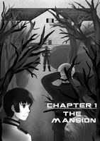 CHAPTER 1 PROPER: The Mansion COVER PAGE by PolarAngie