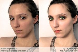 Photoshop makeup 001 by PhyraxDesigns