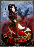 alice madness return on ipad-2 by rainrei