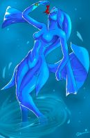Zora love fish by Ga0