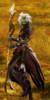 Sylvari Female Nightmare Court Disguise by DarkTentacles