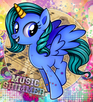 Commission: Music Shimmer by Vocalmaker