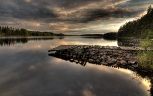 sky and water by Puuronen