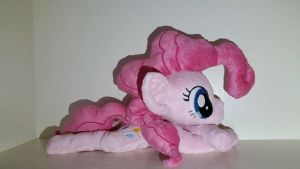 SOLD! Pinkie Pie Beanie Plushie by Echo-the-ninja