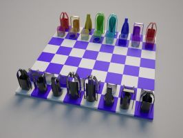 Chess set by Mirallisa