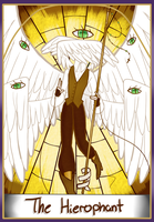 WC: The Hierophant by kimyk0